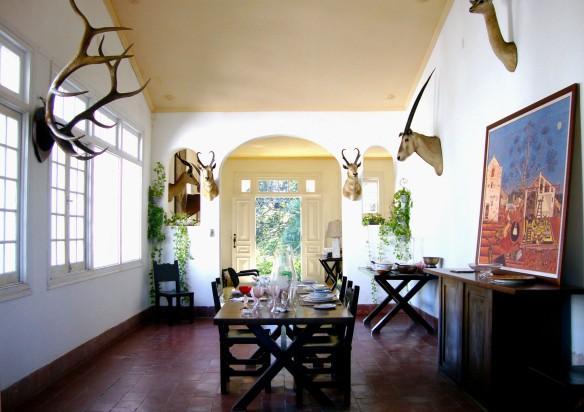 Casa Vigia, dining